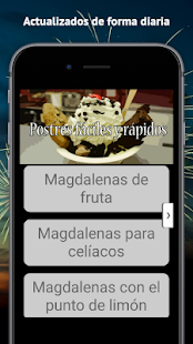 Postres faciles y rapidos - screenshot