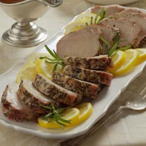 Tuscan Stuffed Pork Loin and Creamy Polenta Recept | Yummly
