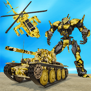 US Army Helicopter Robot Transformation War For PC / Windows 7/8/10 / Mac – Free Download