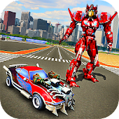 Game Robot Car War Transform Fight apk for kindle fire