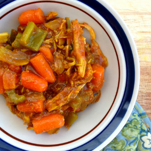 Slow Cooker Curried Chicken Stew