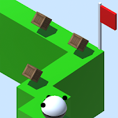 APK Game Zig Zag Rolling Panda for iOS