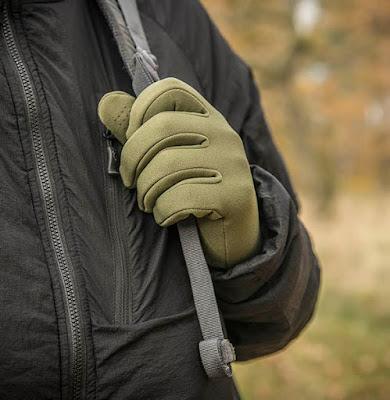 Перчатки Trekker Outback Gloves - Helikon-Tex - чёрный