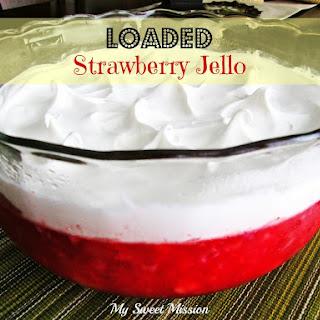 Strawberry Jello With Frozen Strawberries Recipes