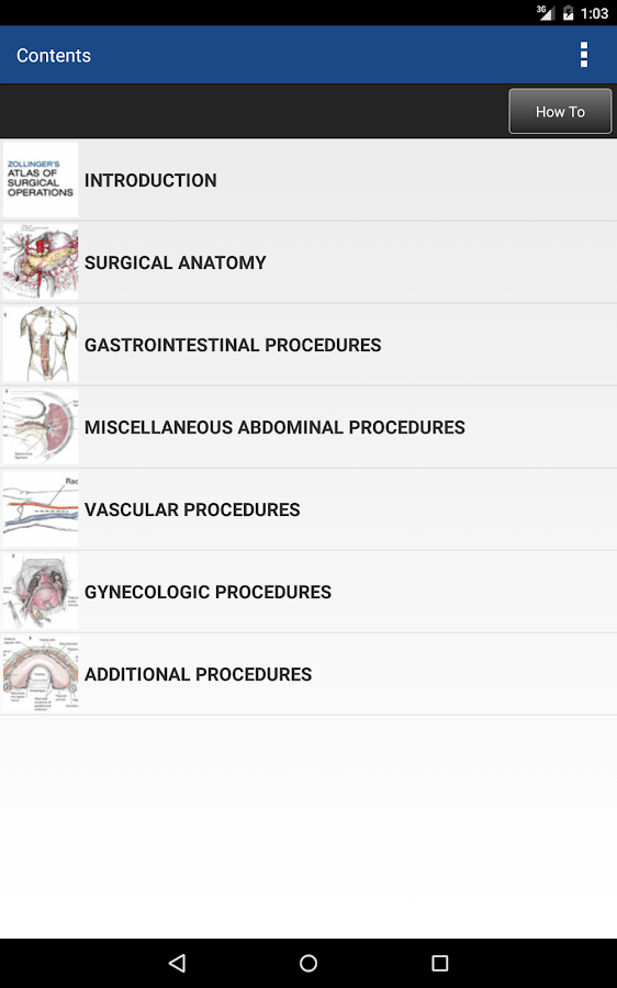 Zollinger's Atlas of Surgery Screenshot 17
