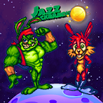 Super Jazz and Spazzz Galaxy adventure of Rabbits Icon
