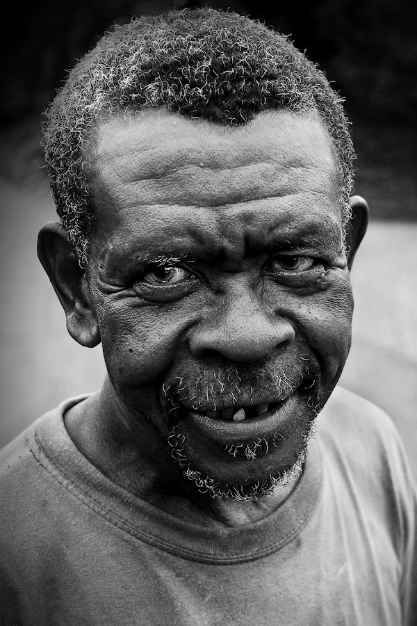Le vieux paysan. by Dominique Pierre - People Portraits of Men ( face, pwc faces, people )