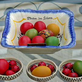 Eggs all around VII by Ciprian Apetrei - Public Holidays Easter ( eggs · easter · still life · decorations )