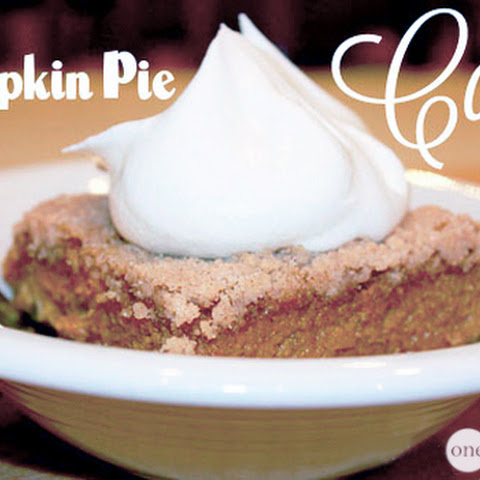 Better Than Pumpkin Pie . . . CAKE!