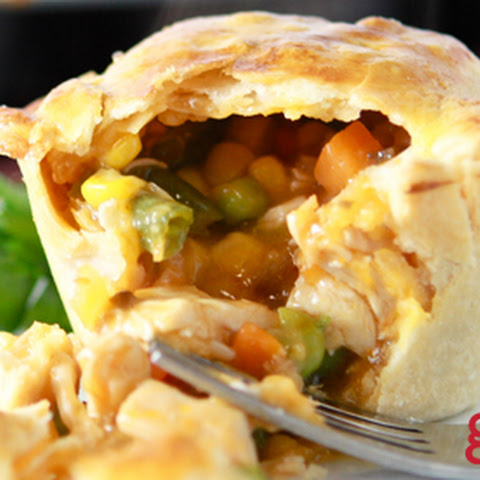 Good Cook Mini Turkey Pot Pies