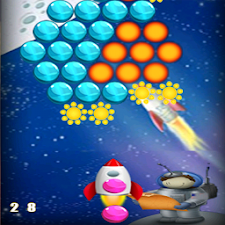 bubble planet shooter
