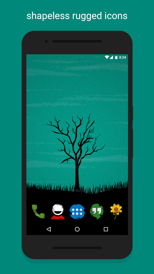 Ruggon - Icon Pack Screenshot 3