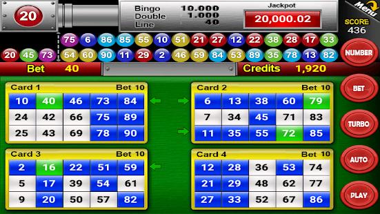 Nine Balls Video Bingo