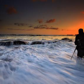 by Linggar Saputra I Wayan - Landscapes Waterscapes
