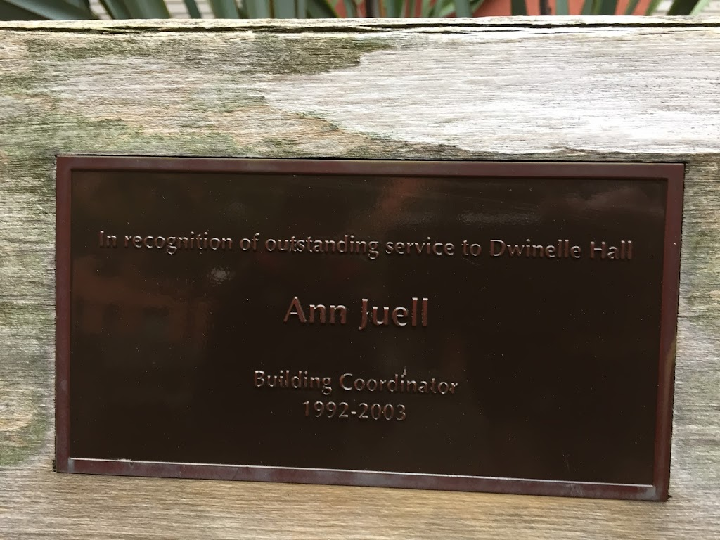 In recognition of outstanding service to Dwinelle Hall Ann Juell Building Coordinator 1992-2003