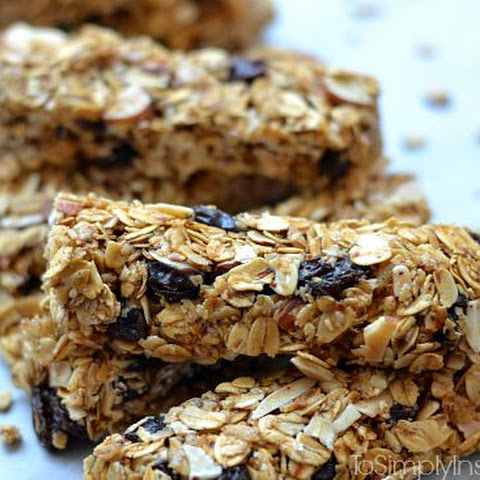 Maple Brown Sugar Granola Bars