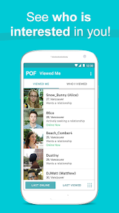 Free POF Free Dating App APK for Windows 8