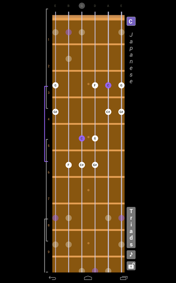 Guitar Scales & Patterns Screenshot 7