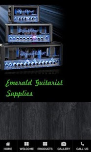 Emerald Guitar Supplies - screenshot
