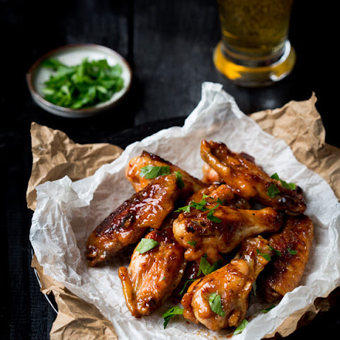 Honey-Chipotle Sticky Wings