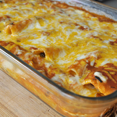 Beef Enchiladas with Ranchero Sauce