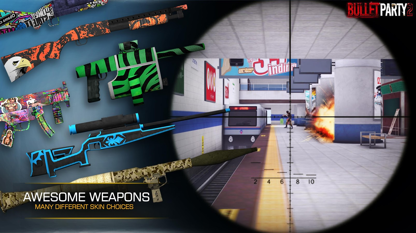 Bullet Party CS 2 : GO STRIKE Screenshot 2