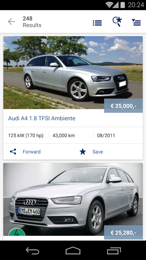 Used Car Finder - Autoscout Used Car Finder Android Apps On Google Play