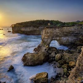 Karangbolong Beach by Slamet Mardiyono - Landscapes Beaches