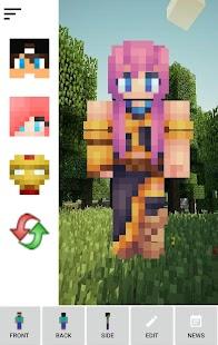 App Custom Skin Creator Minecraft APK for Windows Phone