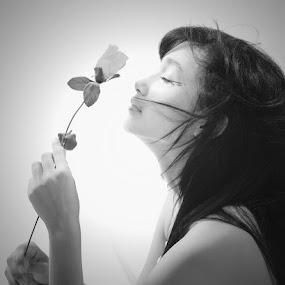 Rose  by Aditya Nugraha - People Portraits of Women ( rose )