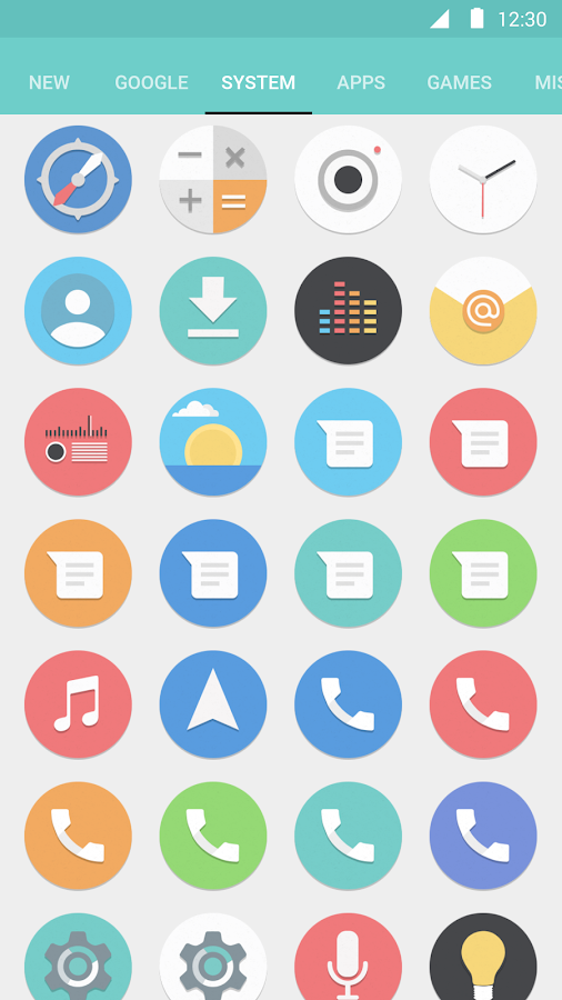 Flatro Icon Pack Screenshot 3