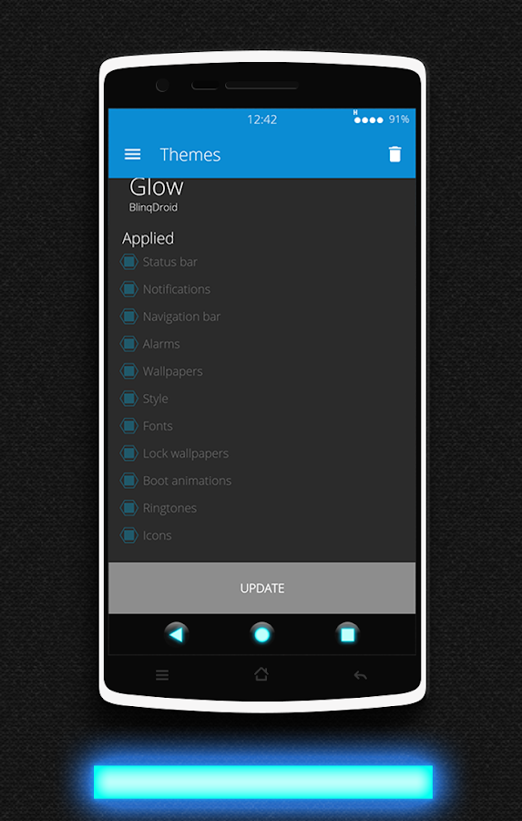 Glow CM13 CM12/12.1 Theme Screenshot 9