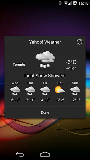 Chronus: Realism Weather Icons screenshot 2