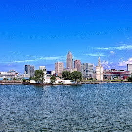 Cleveland by Jim Antonicello - City,  Street & Park  Skylines