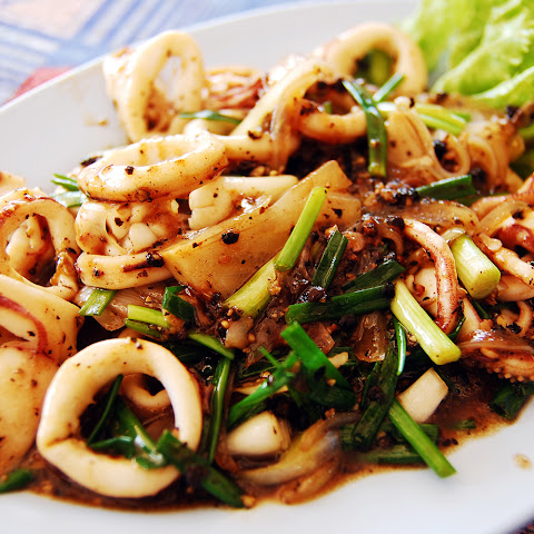 Squid With Paprika