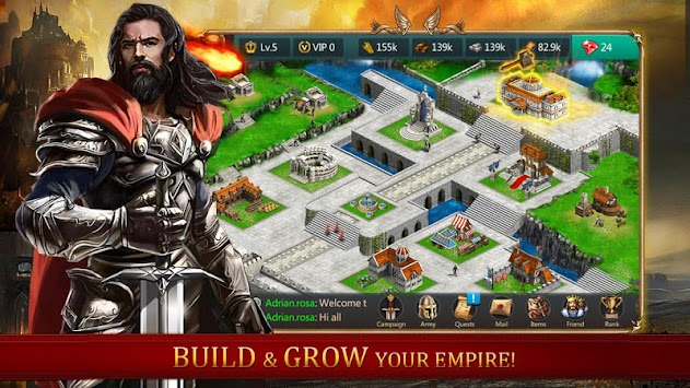 Age Of Kingdom : Empire Clash APK screenshot thumbnail 1