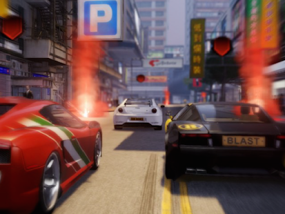 Race in traffic - screenshot