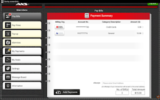 Screenshot of AXS Payment