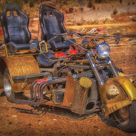 0832-TM-0304-03-18 by Fred Herring - Transportation Motorcycles