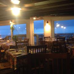 Ocean view dinner