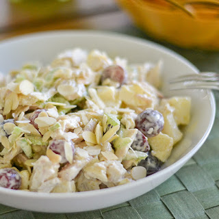 Curried Chicken Salad Apples Grapes Recipes