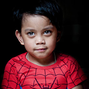 by Elmer Tendero - Babies & Children Child Portraits ( jeddah, elmerizm, spider, one light, photography, saudi arabia, kid )