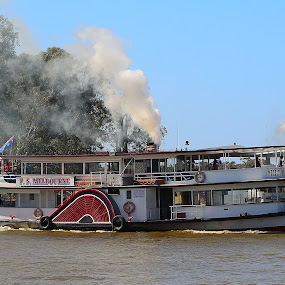 P.S Melbourne by Bradley Bath - Transportation Boats