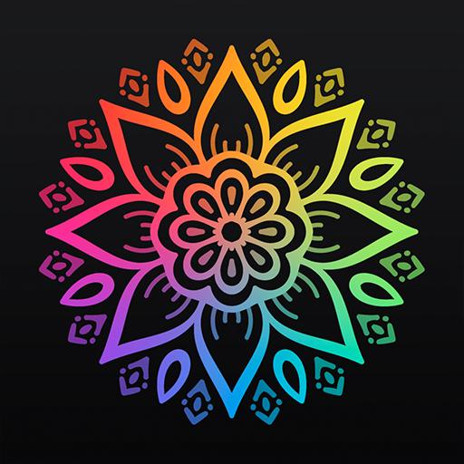 Coloring book 2017 with mandalas (app)