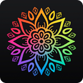 Coloring book 2017 with mandalas