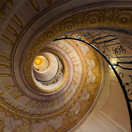 Melk Abbey, Austria by Lori Rider - Buildings & Architecture Architectural Detail