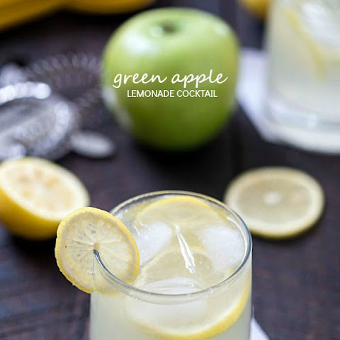 Green Apple Lemonade Cocktail