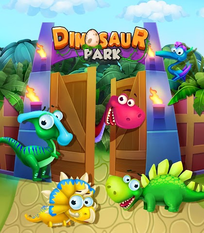android Dinosaur Park: Dino Baby Born Screenshot 4