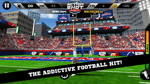 Action Shot Football - screenshot