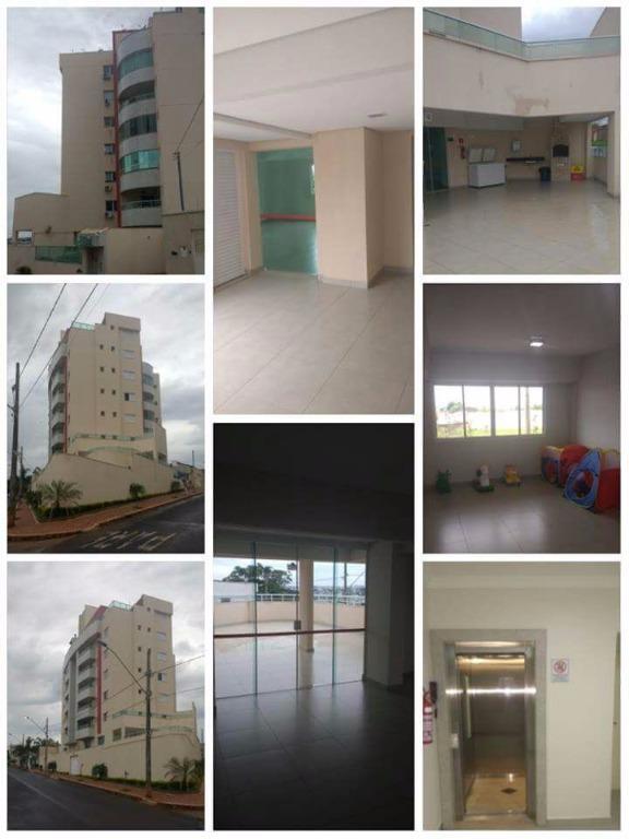 Apartamento residencial à venda, Tubalina, Uberlândia.